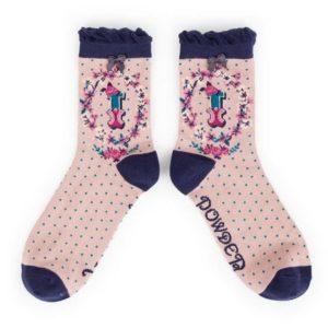 00E561D2 A2DF 4EB3 A78D DE8DF5AD78AF 300x300 - Powder Bamboo Alphabet Initial socks I