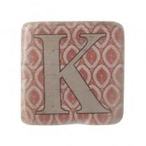 0A7E92B2 81A5 4077 8F20 740F61346AB0 - Alphabet Coaster Letter K