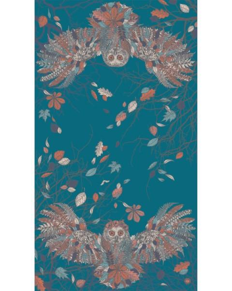 18EC200D 8919 4324 BC0A 5DDD9676A9BB - Powder Autumn Owl Print Scarf