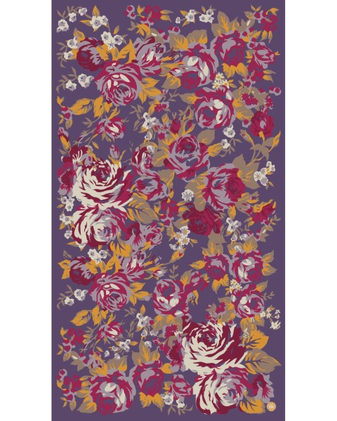 2F12A788 F800 47ED 8EC9 A33E38BE79CD - Powder Autumn Roses Print Scarf