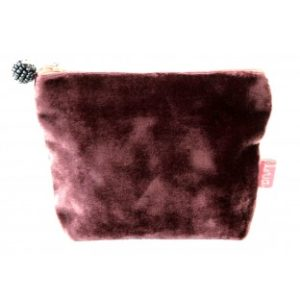 43AE3871 D824 4170 9FAA 4BED0FCD8481 300x300 - Lua Design Velvet Coin Purse Mulberry