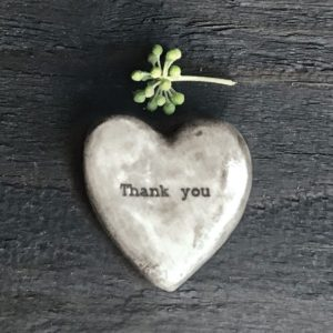 4FBFAA2C 2D46 42F5 A777 427EEC828527 300x300 - East of India Heart Token - Thank You