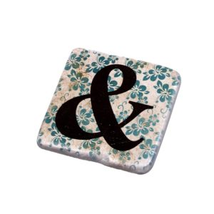 564E28FC 7DCC 4A24 90AA 583270145475 300x300 - Alphabet Coaster Ampersand (and &)