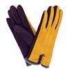 724DB4D7 D34D 41EB A736 38B9BB04822F 100x100 - Powder Amanda Faux Suede Gloves in Charcoal/ Slate