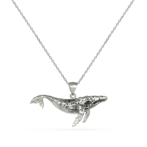 76F0C056 D15F 40D8 BB14 DFB634F381BA 300x300 - Solid Silver Whale Pendant Necklace