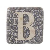 864BC339 67AF 461D 8AAB 45EAC89070DA - Alphabet Coaster Letter B