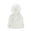 940905CC A291 4B38 9E09 5C48C79B2C92 100x100 - Katie Loxton White Cable Knit Hat