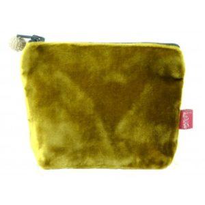 9AA98D26 E1F2 47B9 A939 862C949D43AE 300x300 - Lua Design Velvet Coin Purse Mustard
