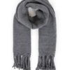 A0621838 650D 4222 AB9C D120D7B6CB05 100x100 - Reversible Grey Pink Pleated Scarf