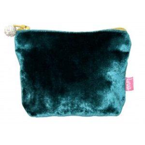 A062CCCD D74F 474C BA86 9B35E818BA47 300x300 - Lua Design Velvet Coin Purse Dark Turquoise