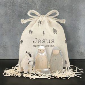 B435E93C 175F 4D0C A87D 2B3EFCA73FB7 300x300 - East of India Nativity Bag Set - Jesus, Mary and Joseph