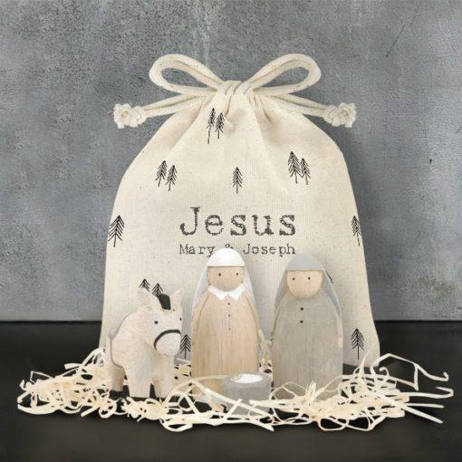 B435E93C 175F 4D0C A87D 2B3EFCA73FB7 510x510 - East of India Nativity Bag Set - Jesus, Mary and Joseph