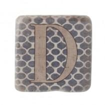 BD6AC004 D541 4341 8F4A B3FBE7E5FFCB - Alphabet Coaster Letter D