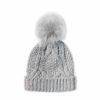C71E0008 5C2D 4D8F 970A FF39AD9E86A3 100x100 - Katie Loxton Grey Cable Knit Hat