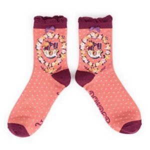 D94D237A 670E 4850 A800 38DABD3479E2 300x300 - Powder Bamboo Alphabet Initial socks G