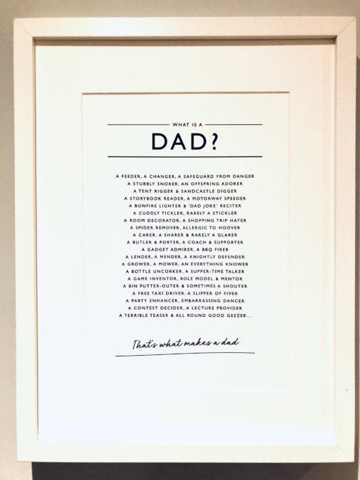 F04455A4 5273 46C0 8F2A DF35DA205CD6 510x680 - Framed Dad Print