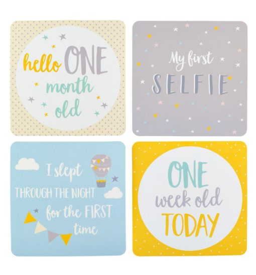busyb milestone cards inside 510x547 - Baby Milestone Cards by Busy B