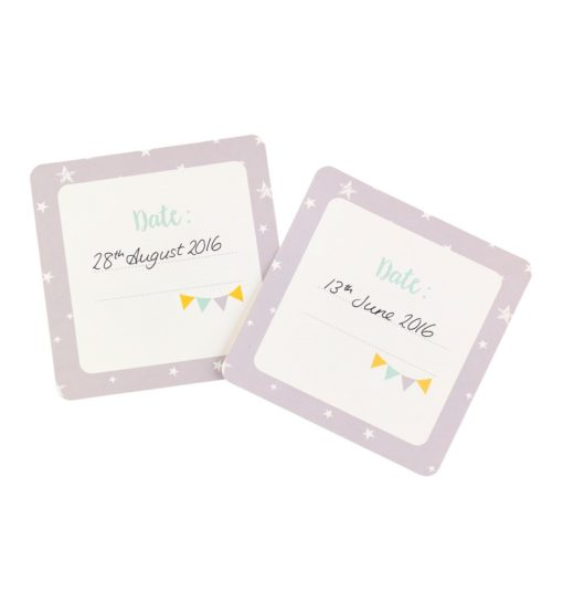 busyb milestone cards propped 510x547 - Baby Milestone Cards by Busy B