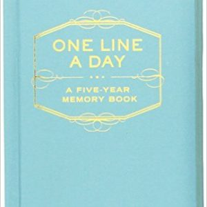 chronicle books one line a day five year diary 300x300 - One Line a Day Five Year Diary by Kate Pocrass