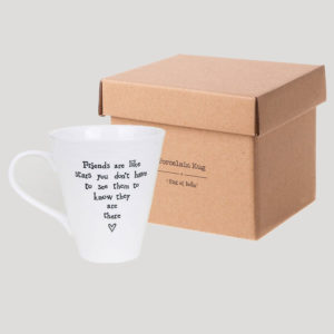 east of india mug lifestyle friends are like stars 300x300 - Friends Are Like Stars Boxed Porcelain Boxed Mug by East of India