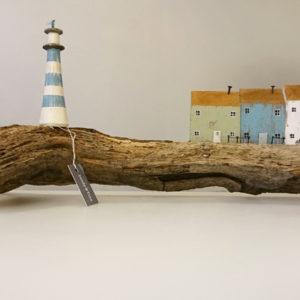 handmade harbour scene large 300x300 - Driftwood Harbour Scene Handmade by Sandy Toes