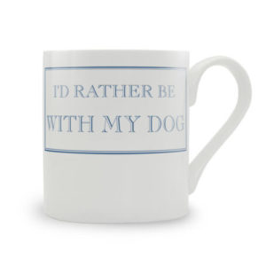id rather be with my dog mug 300x300 - I'd Rather Be With My Dog Mug