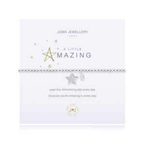 joma jewellery a little amazing bracelet packshot 300x300 - A Little Amazing Silver Bracelet by Joma Jewellery