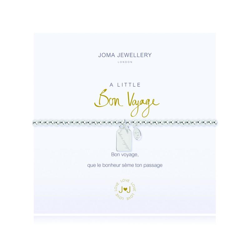 7bd7994af2798 A Little Bon Voyage Silver Bracelet by Joma Jewellery