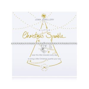joma jewellery a little christmas sparkle bracelet packshot 300x300 - A Little Christmas Sparkle Silver Bracelet by Joma Jewellery