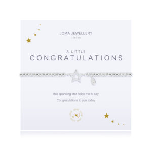 joma jewellery a little congratulations silver bracelet 300x300 - A Little Congratulations Bracelet by Joma Jewellery