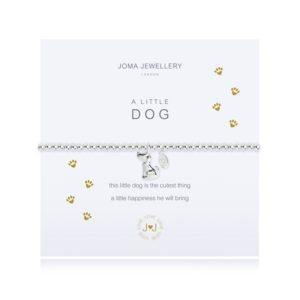 joma jewellery a little dog bracelet packshot 300x300 - A Little Dog Silver Bracelet by Joma Jewellery