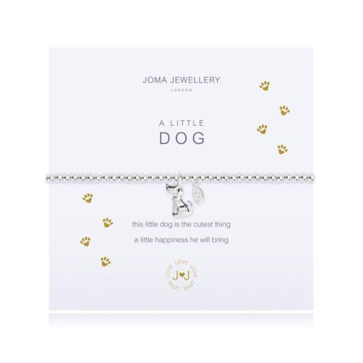 joma jewellery a little dog bracelet packshot 510x510 - A Little Dog Silver Bracelet by Joma Jewellery