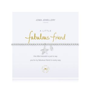 joma jewellery a little fabulous friend bracelet packshot 300x300 - A Little Fabulous Friend Silver Bracelet by Joma Jewellery