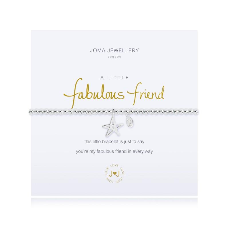 a63747df48db1 A Little Fabulous Friend Silver Bracelet by Joma Jewellery