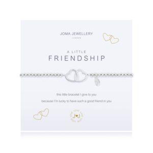 joma jewellery a little friendship bracelet packshot 300x300 - A Little Friendship Silver Bracelet by Joma Jewellery