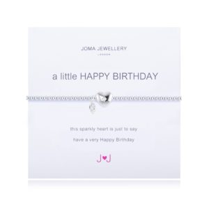 joma jewellery a little happy birthday silver bracelet 300x300 - A Little Happy Birthday Silver Bracelet by Joma Jewellery