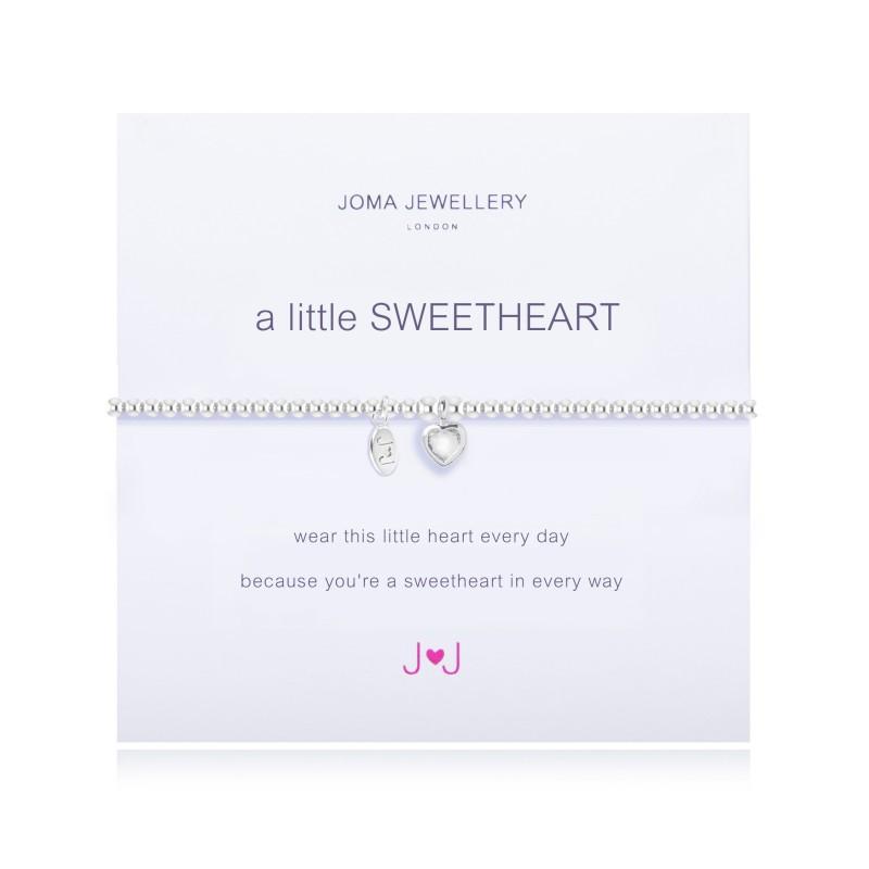4d5aefdfbdf2d A Little Sweetheart Silver Bracelet by Joma Jewellery