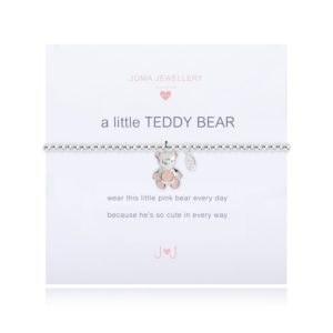 joma jewellery a little teddy bear childrens bracelet packshot 300x300 - A Little Teddy Bear Childrens Silver Bracelet by Joma Jewellery