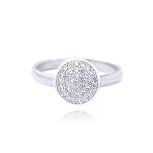 joma jewellery halo ring 300x300 - Halo Pave Ring by Joma Jewellery