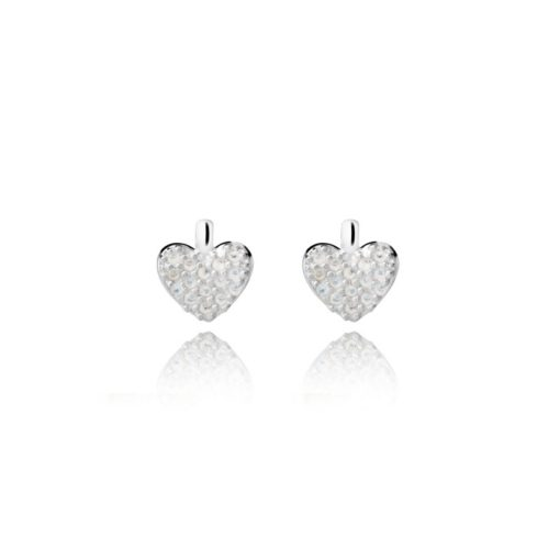 joma jewellery priya heart earrings moonstone 510x510 - Priya Heart Moonstone Earrings by Joma Jewellery