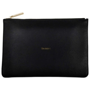 katie loxton black tah dah perfect pouch 300x300 - Black Tah Dah! Perfect Pouch by Katie Loxton