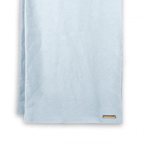 katie loxton blanket scarf pale blue detail 510x510 - Blanket Scarf Pale Blue by Katie Loxton