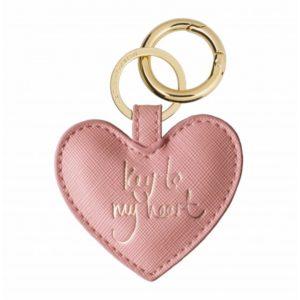 katie loxton heart sentiment keyring pink 300x300 - Heart Sentiment Pink Keyring by Katie Loxton