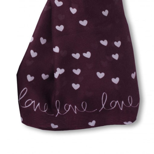 katie loxton love love love scarf sentiment.jpg 510x510 - Love Love Love Scarf by Katie Loxton