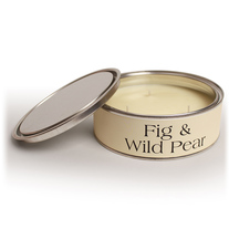 pintail fig and wild pear three wick candle - Fig and Wild Pear Three Wick Candle by Pintail