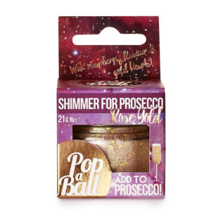 popaball rose gold shimmer for prosecco 300x300 - Rose Gold Shimmer For Prosecco by Popaball