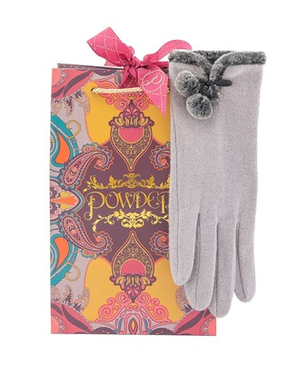 powder betty wool gloves - Betty Wool Gloves Grey by Powder Design