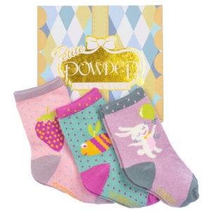 powder design baby girl socks gift box 3 pairs 300x300 - Baby Girl Socks Gift Box 3 Pairs Multi by Powder Design