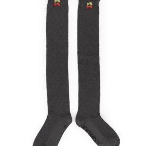 powder design long lace top socks slate 300x300 - Lace Top Long Socks Slate by Powder Design