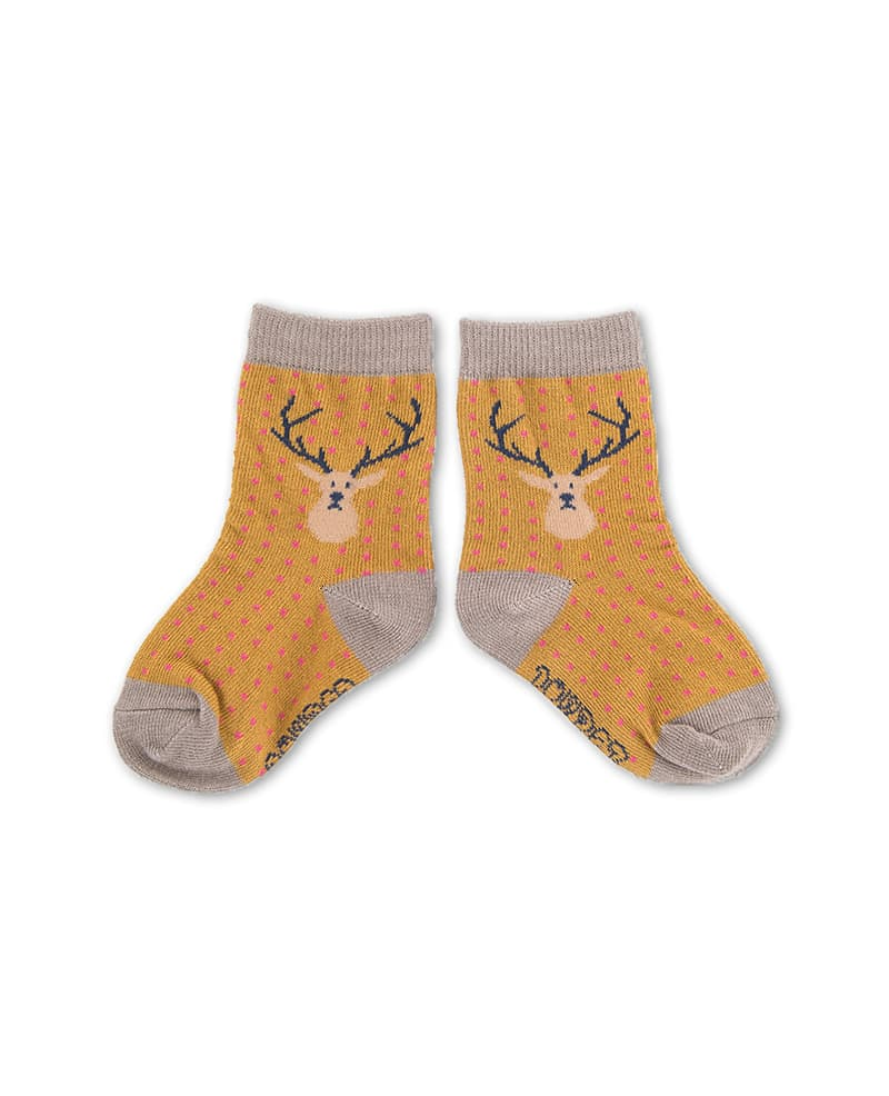 Stag Baby Socks Camel By Powder Design Sandy Toes Gifts
